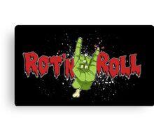 Rot'n Roll Canvas Print