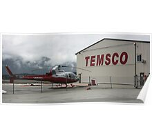 TEMSCO Helicopters Poster