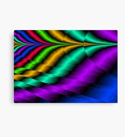Color Point Canvas Print