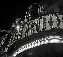 Moulin Rouge B/W by CherylBee