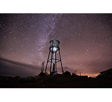 Milky Way over Ruby Hill Photographic Print