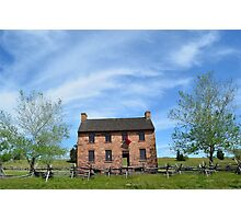 Civil War Stone House of Refuge Photographic Print