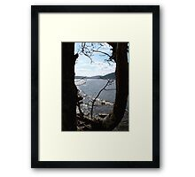 From The Shadows - Loch Ness Framed Print