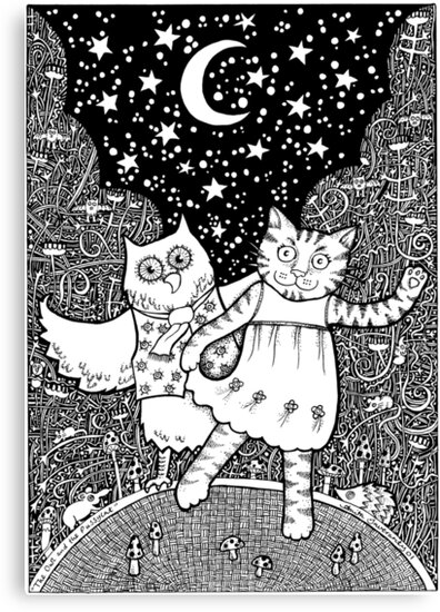 The Owl and the Pussycat  by Anita Inverarity