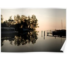 River front, North Holland Poster