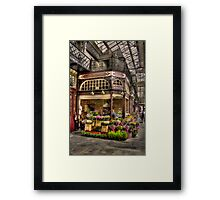 Flowers By Saffron Framed Print