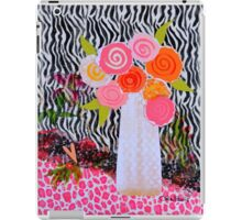 Wild about Flowers and Animals iPad Case/Skin