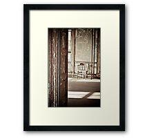 Ellis Island New York Framed Print