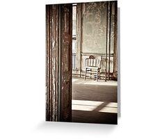 Ellis Island New York Greeting Card