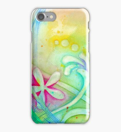 Playful Fancy of Swirls and Curls iPhone Case/Skin