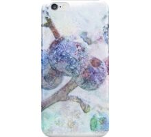 Vibrant Frost 1 with frame iPhone Case/Skin