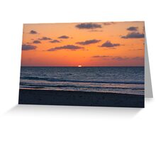 Cuban Sunset (Cuba) Greeting Card