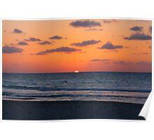 Cuban Sunset (Cuba) Poster