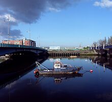 Belfast Docks (7) by SNAPPYDAVE