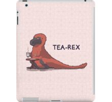 Fluffy Tea-Rex iPad Case/Skin