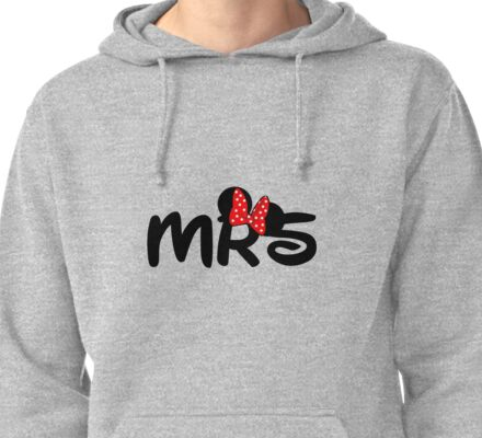 Mrs.Mouse Pullover Hoodie