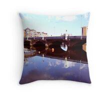 Belfast Docks (8) Throw Pillow