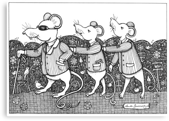 Three Blind Mice by Anita Inverarity
