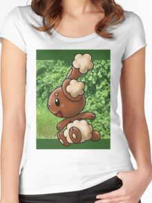 Buneary Women's Fitted Scoop T-Shirt
