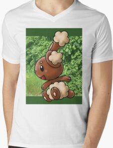 Buneary Mens V-Neck T-Shirt