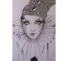 Moonstruck Pierrot Photographic Print
