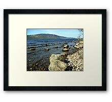 Down by the Water Edge Framed Print
