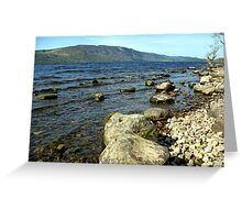 Down by the Water Edge Greeting Card