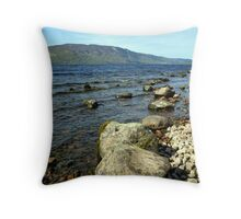 Down by the Water Edge Throw Pillow