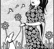 Walking With Jasmine  by Anita Inverarity