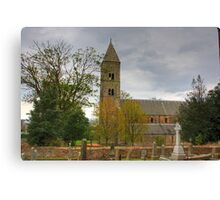 Carriden Church Tower Canvas Print