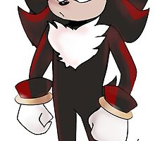 Shadow the Hedgehog by Rozaliine