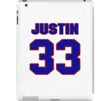 National football player Justin Griffith jersey 33 iPad Case/Skin