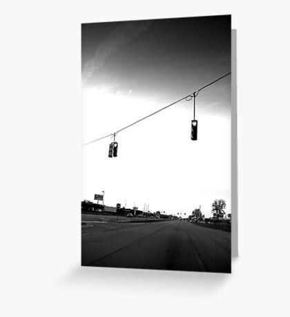 Traffic III Greeting Card