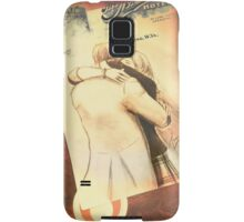 Clara and The Doctor [A Sketch] Samsung Galaxy Case/Skin
