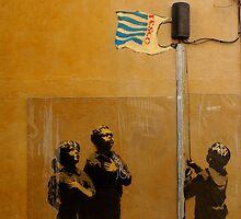 Banksy - Tesco  by Kiwikiwi