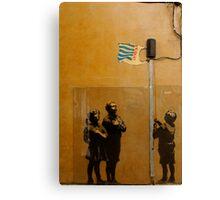 Banksy - Tesco  Canvas Print