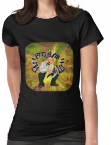 Sax Player Womens Fitted T-Shirt