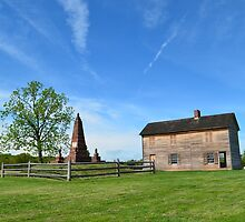 The Henry House and Bull Run Monument by lookherelucy