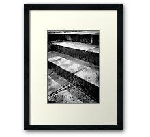 Simply Steps Framed Print