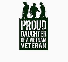 Patriotic 'Proud Daughter of a Vietnam Veteran' Ladies T-Shirt and Gifts T-Shirt