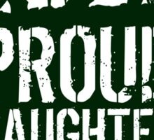 Patriotic 'Proud Daughter of a Vietnam Veteran' Ladies T-Shirt and Gifts Sticker