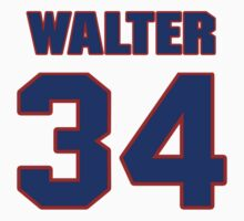 National football player Walter Abercrombie jersey 34 by imsport