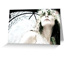 """""""Angel Perspective"""" Greeting Card"""