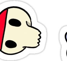 ashton pack Sticker