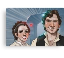 Star Wars selfie series: #3 Canvas Print