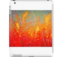AMBER WHEYS OF GRAIN iPad Case/Skin