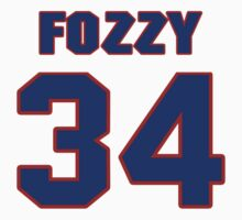 National football player Fozzy Whittaker jersey 34 by imsport