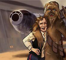 Star Wars selfie series: #4 by livielightyear