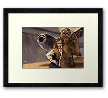 Star Wars selfie series: #4 Framed Print