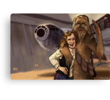 Star Wars selfie series: #4 Canvas Print